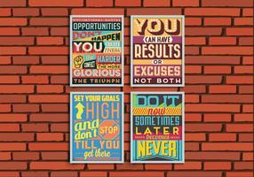 Goals Posters Vector