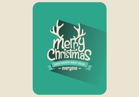 Christmas Playing Card Vector