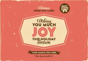 Wishing You Joy Vector