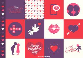 Vector Valentine's Day Designs