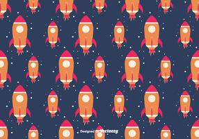 Starship Pattern Background
