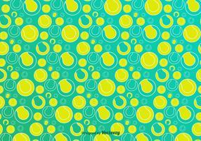 Tennis Ball Vector Pattern