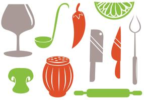 Free Kitchen Vectors