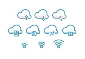 Tecnologia Cloud Icon