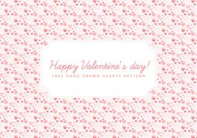 Vector Tiny Hearts Valentine's Day Background