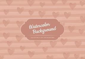 Vector Beige Valentine's Day Background
