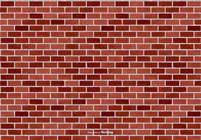 Red Brick Vector Background