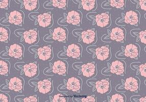 Hand Drawn Camellia Pattern