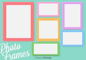 Colorful Vector Photo Frames