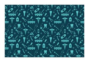 Dentista Seamless Pattern Free Vector