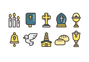 Comunion Simple Vector Icon Sets