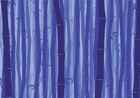 Bamboo Background Night Free Vector