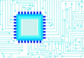 Blue Tecnologia Wallpaper Vector