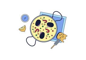 Free Paella Vector