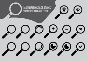 Magnifying Glass Icons