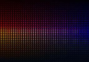 Free Vector Colorful Glowing Halftone Background