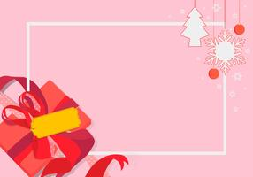 Sapin Winter Frame Template