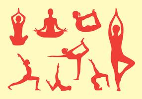 Yoga Pose Vector Pack