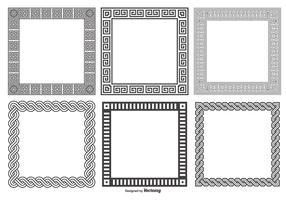 Decorative Square Frames Collection