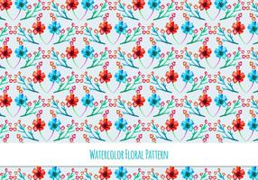 Beautiful Free Vector Floral Pattern