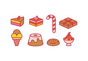 Sweet vectors icons