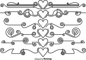 Vector Ornamental Dividers