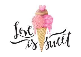 Valentine's Day Quote Illustration