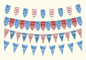 Vector 4th of July Banners