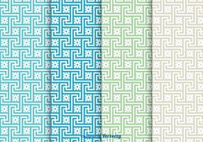 Greek Key Vector Seamless Patterns