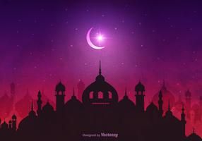 Vector Arabian Nights Background