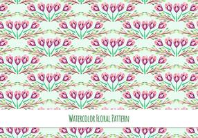 Free Vector Watercolor Pattern With Spring Flowers