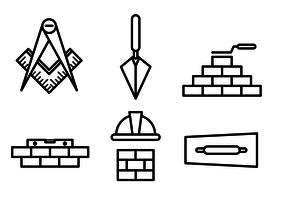Free Masonry Vector