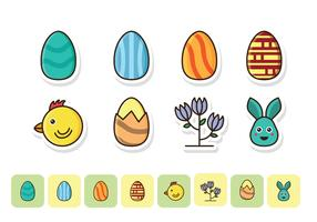 Free Easter Icon Set