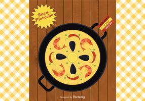 Free Paella Vector Illustration