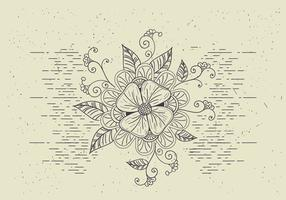 Free Vector Flower Illutration