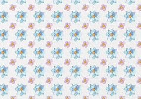 Free Vector Spring Watercolor Flowers Pattern