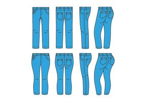 Blue Jean Vectors
