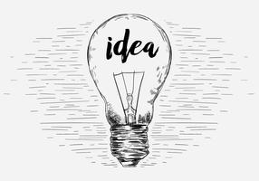 Free Vector Lightbulb Illustration