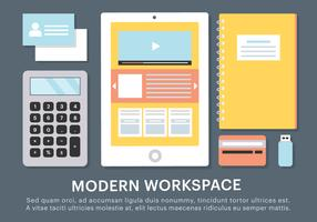 Free Business Workspace Vector Elements