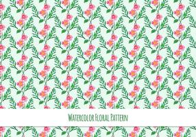 Free Vector  Pattern With Floral Theme
