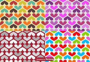 Vector Hearts Seamless Pattern