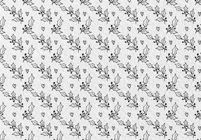 Free Vector Holy Flower Leaves Seamless Pattern
