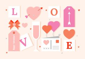 Free Vector Valentine's Day Elements And Icons