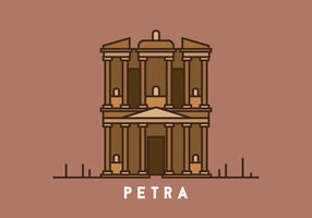 Petra Illustration