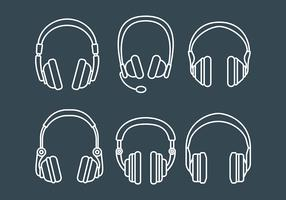 Free Head Phone Icons Vector