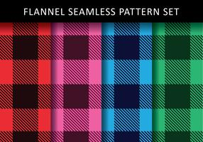 Colorful Flannel Vectors