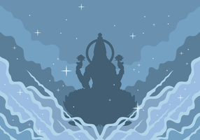 Lakshmi Vector Illustration