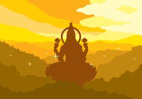 Lakshmi Free Vector Illustration