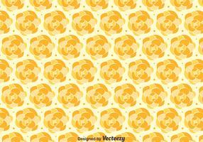 Orange Camellia Pattern Background