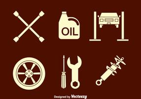 Auto Body Icons Vector
